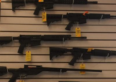 Long Gun Wall